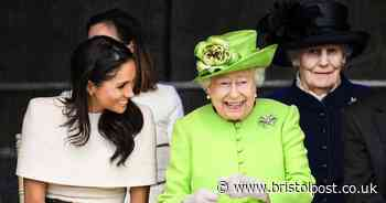 Queen's TV address on same day as Meghan and Harry interview