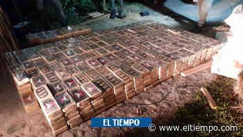 Incautan 800 kilos de coca del 'Clan' avaluados en $ 5 mil millones - El Tiempo