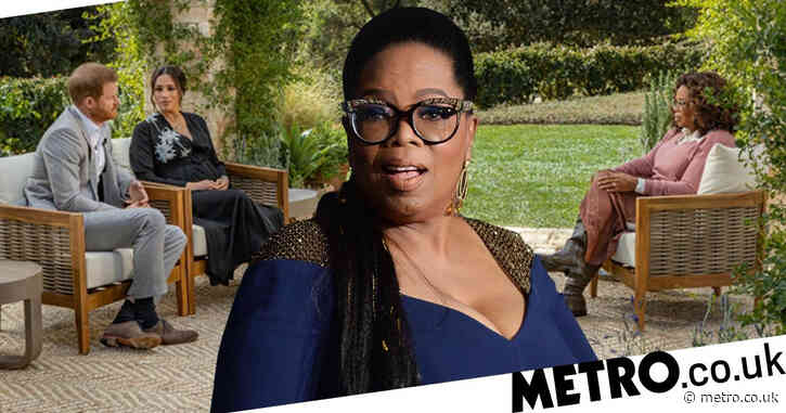 Oprah 'took up to £6,500,000' for royal interview but Meghan and Harry weren't paid
