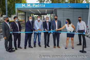 Se inauguró la renovación de la estación Padilla en Villa Martelli - elcomercioonline.com.ar