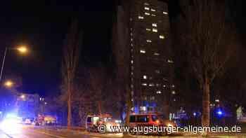 Feuer im Studentenwohnheim an Lechbrücke