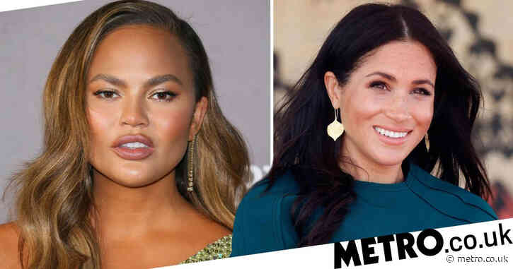 Chrissy Teigen defends pregnant Meghan Markle: 'They won't stop until she miscarries'