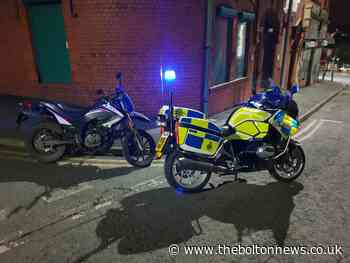 Learner's motorbike seized by police after chase through Darwen