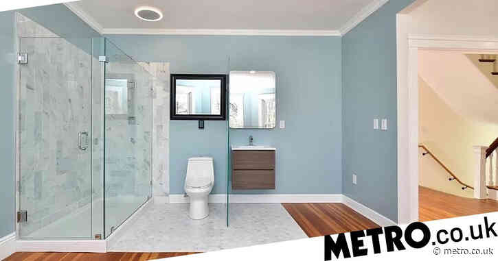 House for sale at £643k baffles buyers with glass bathroom walls that offer no privacy
