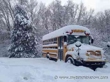 BUS CANCELLATIONS: COCHRANE, IROQUOIS FALLS, MATHESON, RAMORE - My Timmins Now