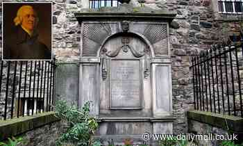 Adam Smith's grave is included in dossier of sites linked to slavery and colonialism