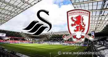 Swansea City v Middlesbrough - live updates