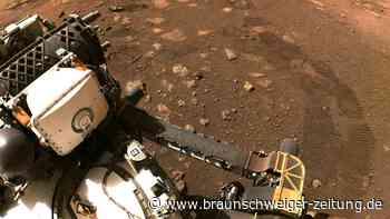 "Mars-Rover ""Perseverance"" macht erste Testfahrt"