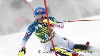 Ski alpin: Shiffrin gewinnt Weltcup-Slalom - Deutscher Achtungserfolg