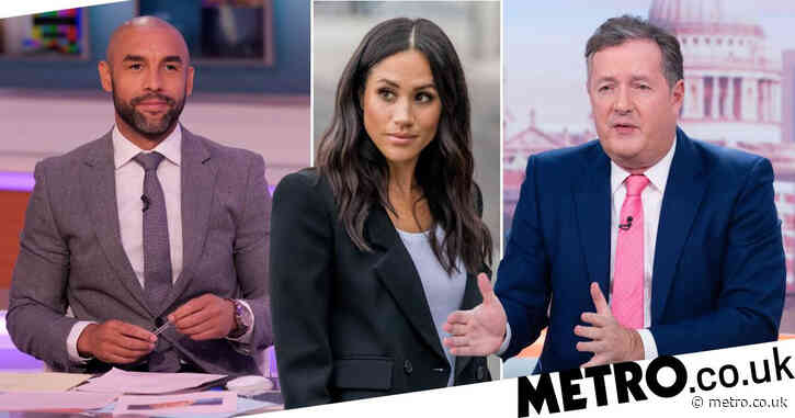 Good Morning Britain's Alex Beresford tells Piers Morgan to 'lay off' pregnant Meghan Markle