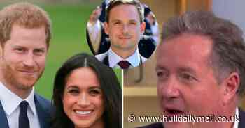 Piers Morgan calls Meghan Markle's Suits co-star 'twerp' for attacking royals