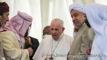 Viertägige Reise: Papst wirbt für Dialog im Irak - Treffen mit Großajatollah