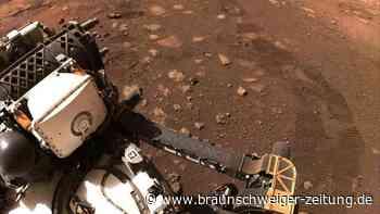 Raumfahrt: Mars-Rover fährt erstmals über den Roten Planeten