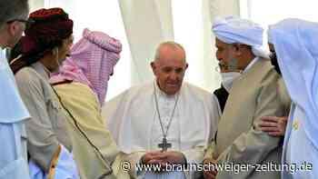 Papst verurteilt im Irak religiösen Extremismus