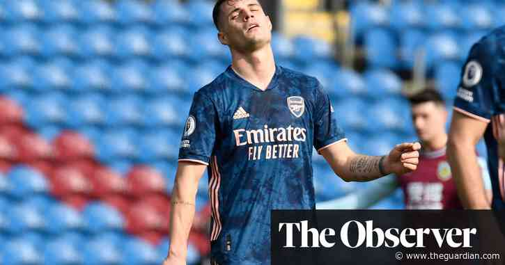 Granit Xhaka blunder and late VAR drama cost Arsenal in draw at Burnley