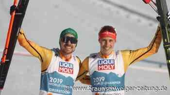 Nordische Ski-WM: Kombinierer Frenzel und Rießle holen Bronze