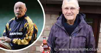The Welsh referee who's finally had his pint off Alec Evans after 28 years