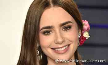 Lily Collins shares unbelievable throwback photo - HELLO!