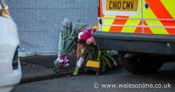 Floral tributes appear in Ynyswen street where 16-year-old died