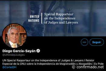 Diego García-Sayán-Relator Especial de la ONU: Ecuador los jueces y fiscales no deben interferir, de manera directa e indirecta, en las tareas de órganos y procesos electorales. - Confirmado.net