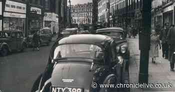 Newcastle's Clayton Street in the 1950s - and the same view in recent times