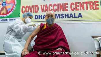 Dalai Lama wirbt für Corona-Impfung