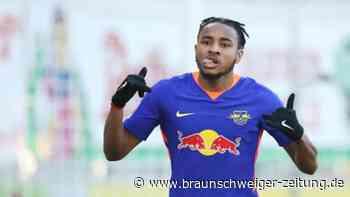 Fußball-Bundesliga: Leipzig grüßt von oben – Hertha gelingt Befreiungsschlag