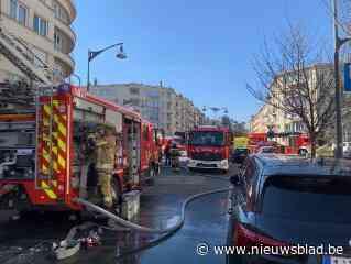 Dakbrand in gebouw: studentenkoten onbewoonbaar