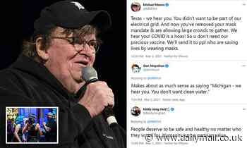 Michael Moore draws fury for suggesting Texas should not get COVID vaccines