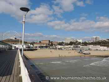 Bournemouth beach attracts visitors before easing of lockdown restrictions