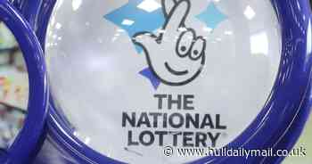 The winning numbers for Saturday's £20m National Lottery jackpot