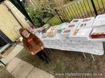 Six-year-old Minnie organises a fundraiser in memory of Hazel Wilcock