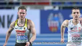 Hallen-Europameisterschaft: Sprinter Kevin Kranz holt EM-Silber über 6o Meter