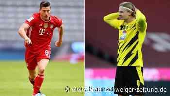 Bayern schlägt den BVB - Lewandowski sticht Haaland aus