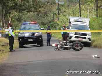 Derrape cobra vida de joven motociclista en Florencia de San Carlos - La Nación Costa Rica