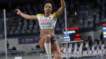 Hallen-Europameisterschaft: Vier Zentimeter fehlen Mihambo zu EM-Gold - Kranz mit Silber