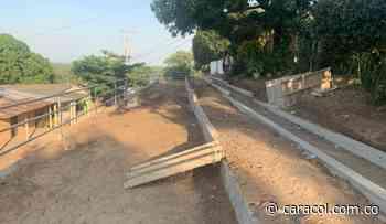 Construcción de muro de contención en San Estanislao avanza en un 70% - Caracol Radio
