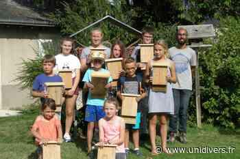Atelier nature à partir de 7 ans : Refuges à chauve-souris mercredi 18 août 2021 - Unidivers