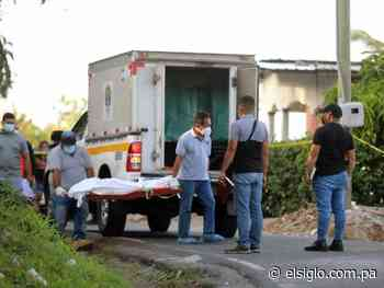 Estaba en el portal de su casa en Río Hato y lo acribillaron - El Siglo Panamá