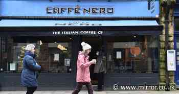 Caffè Nero branch staff claim they switch sell-by dates to make food seem fresh
