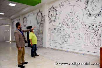 Inicia creación de mural monumental con la historia de Soledad - Código San Luis