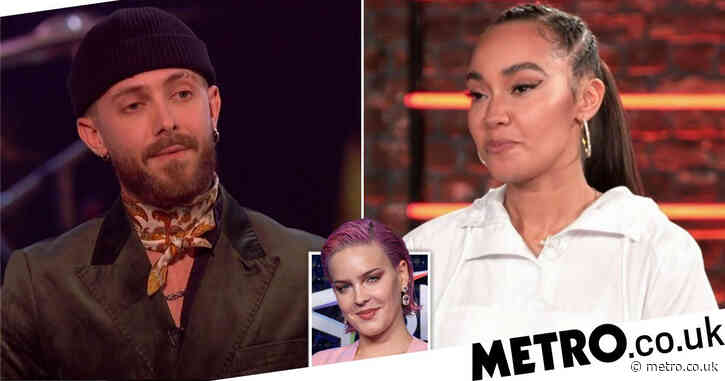 The Voice UK: Little Mix's Leigh-Anne Pinnock confronts Touch backing dancer after he said he preferred dancing for Anne-Marie