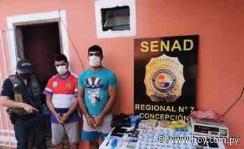 """""""Supermercado de crack"""" en Concepción: intervinientes hallan 16.000 dosis - Hoy"""