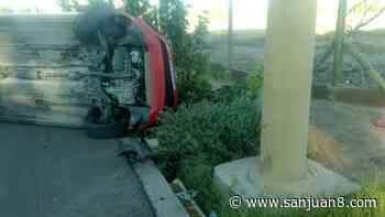 Habló la conductora del auto que volcó en Concepción - San Juan 8