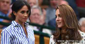 Royal aides 'fear Meghan Markle will tell all about rift with Kate' to Oprah