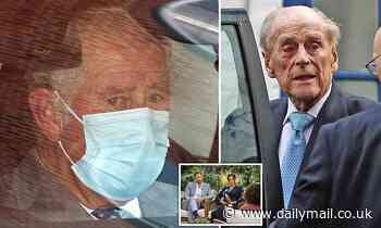 Charles is far more concerned about Philip's health than Oprah's interview