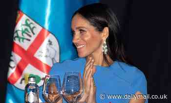 Meghan STILL has the tainted diamond earrings from the Saudi Crown Prince in her collection