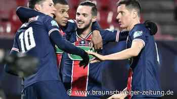 Coupe de France: Paris Saint-Germain locker in Brest im Pokal weiter
