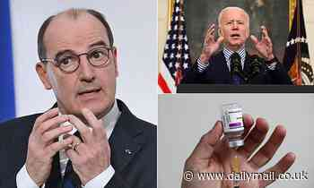 Now EU is forced to go cap in hand to US for AstraZeneca jab it sneered at