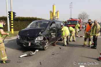 Twee gewonden na kop-staartaanrijding (Temse) - Gazet van Antwerpen